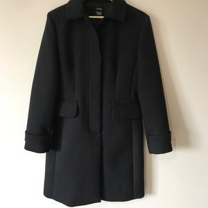 GNW- Black Vintage Trench Coat